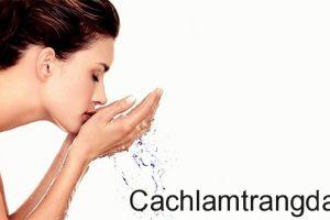 Sử dụng nước vo gạo để dưỡng và làm đẹp trắng da mà không gây kích ứng