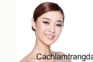 Trị tàn nhan hiệu quả với cách làm mặt nạ trị nám và dưỡng trắng da