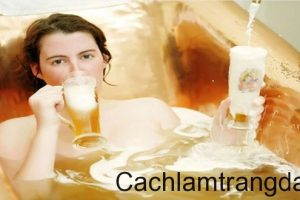Làm trắng da bằng bia có thực sự hiệu quả như tin đồn?