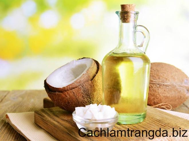 Làm trắng da bằng dầu dừa – Bí quyết trắng từ mặt đến chân 1