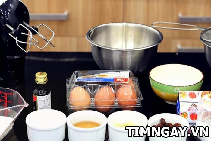 Hướng dẫn làm bánh bông lan bằng lò vi sóng thơm ngon như bánh siêu thị 1