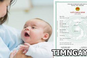 Khi đi làm giấy khai sinh cần giấy tờ gì? Một số thủ tục bố mẹ cần biết để tránh bị bỡ ngỡ 2
