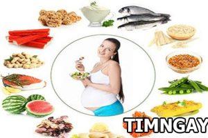 Mang thai 3 tháng đầu nên ăn gì? Chế độ dinh dưỡng dành cho mẹ bầu