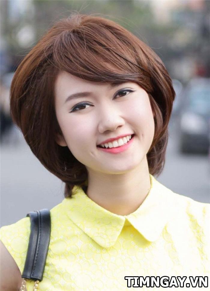Những kiểu tóc cho mặt to tròn cực đẹp bạn phải biết 1