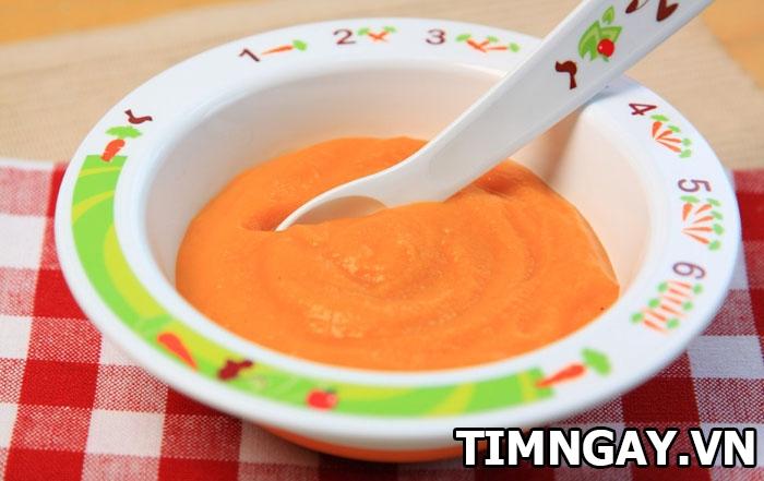 Những món cháo dinh dưỡng cho bé dưới 1 tuổi đơn giản mẹ nào cũng phải biết 3