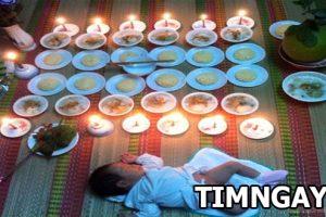 Tại sao lại có lễ cúng đầy tháng cho bé và cách chuẩn bị lễ vật cúng đúng nhất