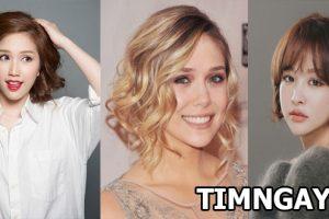 Tổng hợp các kiểu tóc xoăn ngang vai thịnh hành cho phái đẹp