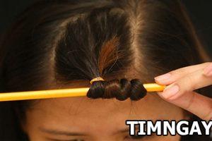 Tự làm tóc xoăn tại nhà với những vật dụng hết sức đơn giản