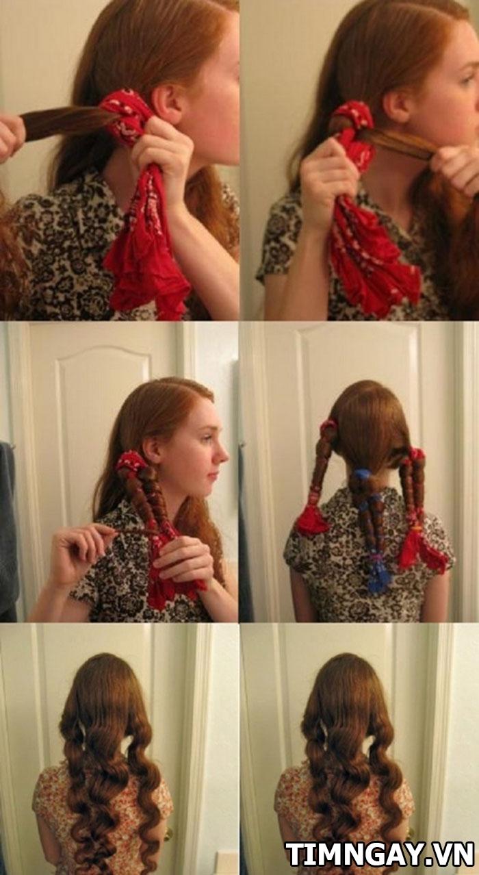 3 cách làm tóc xoăn đuôi tại nhà đẹp hoàn hảo cho bạn gái 1