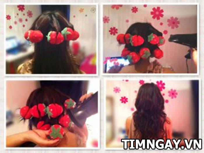 3 cách làm tóc xoăn đuôi tại nhà đẹp hoàn hảo cho bạn gái 2