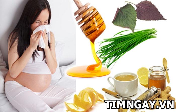 Bà bầu cảm cúm, cách chăm sóc và phòng tránh như thế nào? 1