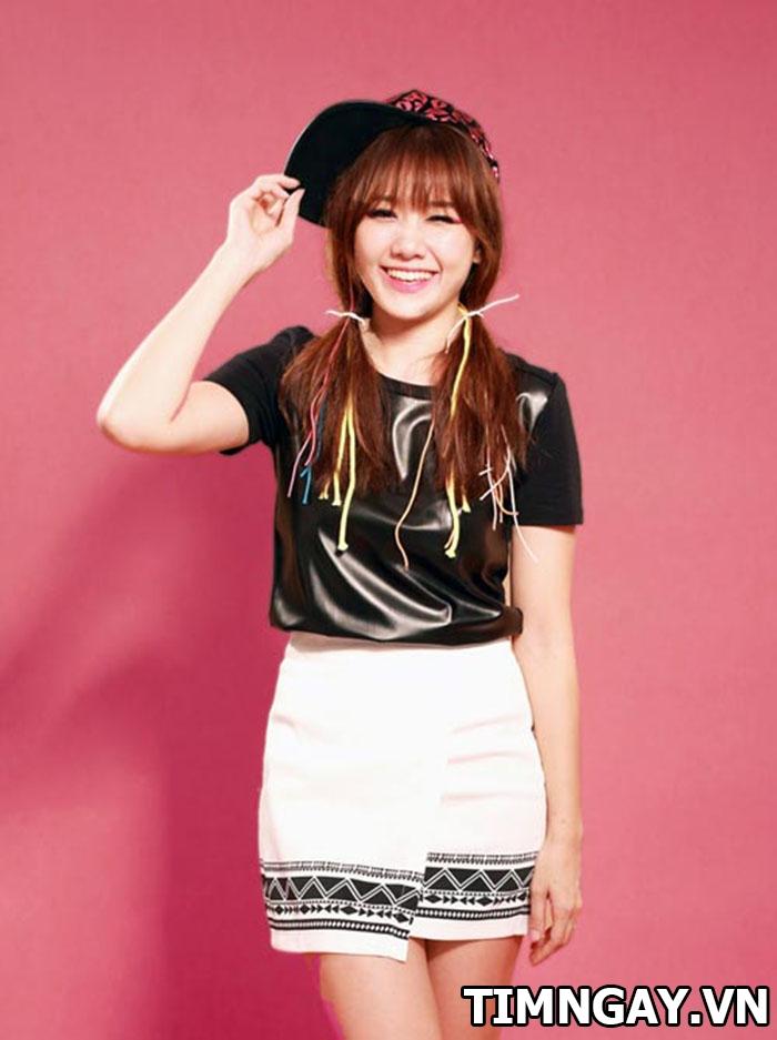Các kiểu tóc của Hariwon, trẻ trung, năng động và phong cách 2
