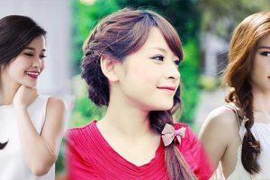 Các kiểu tóc đẹp đơn giản đến trường những ngày hè oi bức cho bạn gái