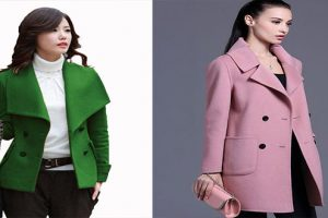Cách chọn áo khoác dạ nữ 2017 hợp dáng từng người
