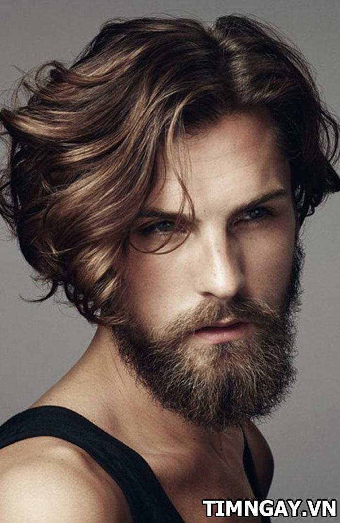 Cách làm tóc xoăn cho nam không cần máy đẹp như lãng tử 2