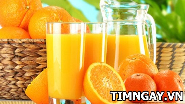 Cách pha nước cam cho bé và những lưu ý khi cho trẻ uống nước cam 1