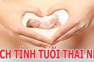 Cách tính tuổi thai chính xác nhất để chăm sóc chuẩn cho mẹ và bé