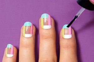 Cách vẽ nail đơn giản tại nhà cho các bạn gái đẹp độc đáo