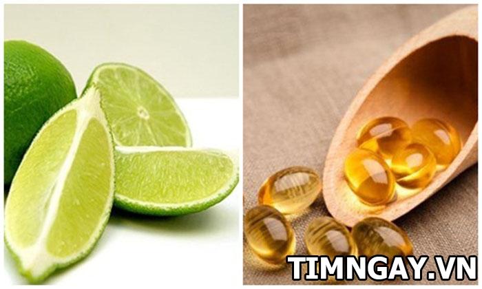Hướng dẫn bạn bôi vitamin e lên mặt đúng cách trị vết thâm hiệu quả 3