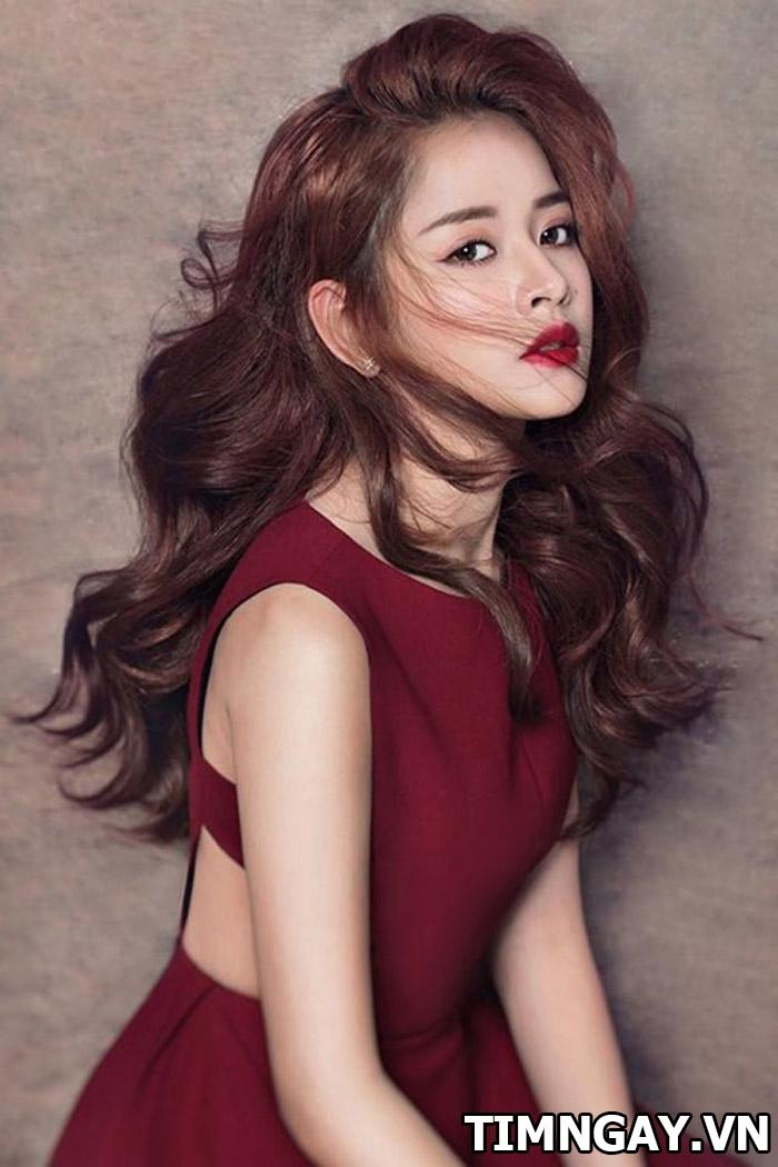 Những kiểu tóc đẹp mê mẩn của hot girl đình đám Chi Pu 4