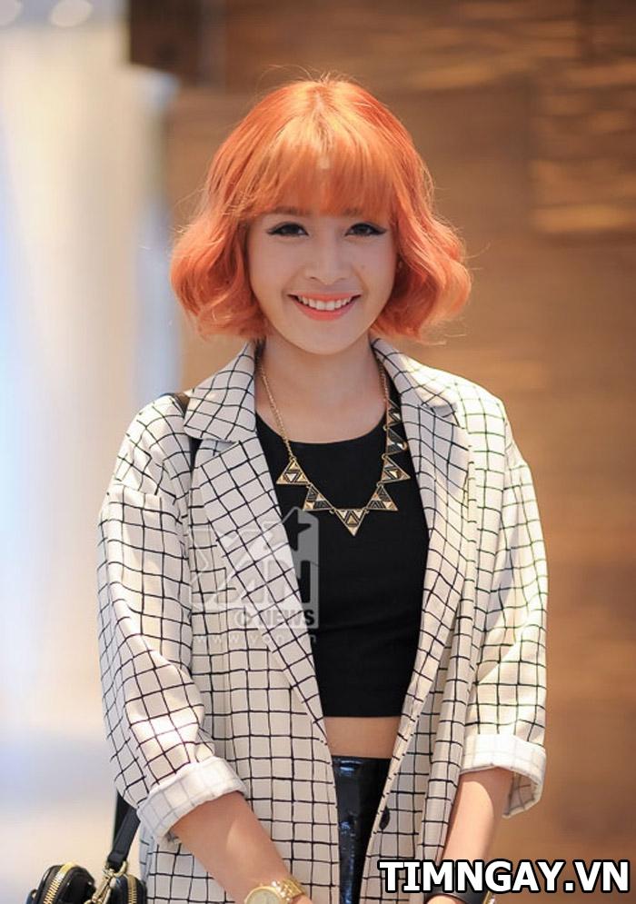 Những kiểu tóc đẹp mê mẩn của hot girl đình đám Chi Pu 7