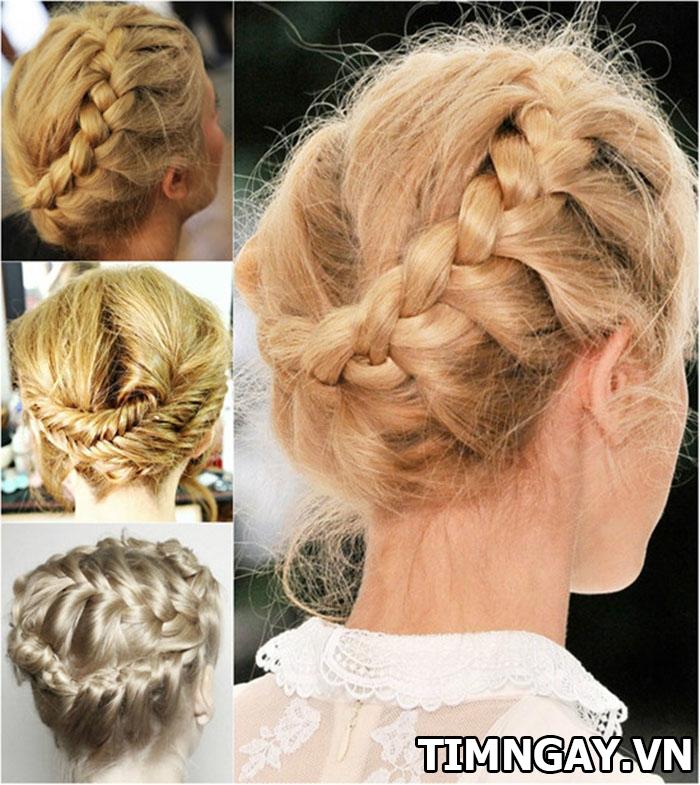 Thay đổi phong cách mỗi ngày bằng các kiểu tết tóc cho tóc ngắn 2