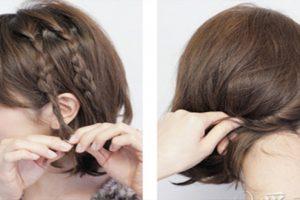 Thay đổi phong cách mỗi ngày bằng các kiểu tết tóc cho tóc ngắn