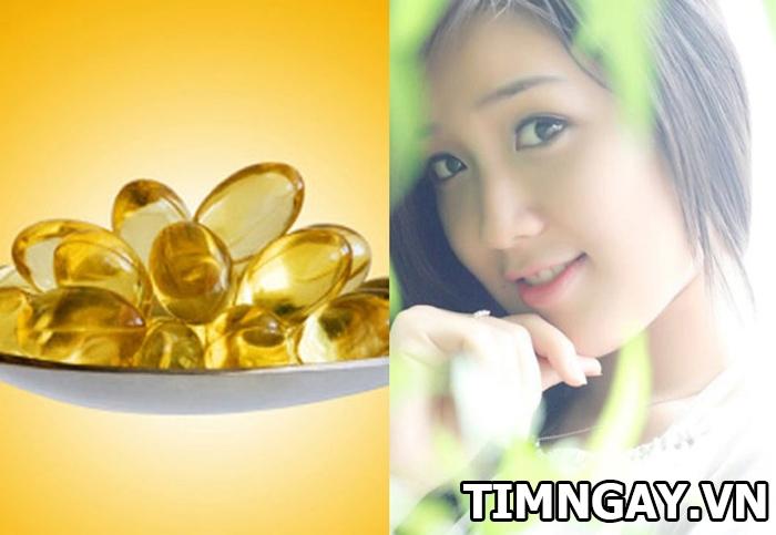 Tìm hiểu tác dụng của vitamin E với da mặt bạn gái 1