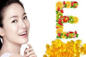 Tìm hiểu tác dụng của vitamin E với da mặt bạn gái