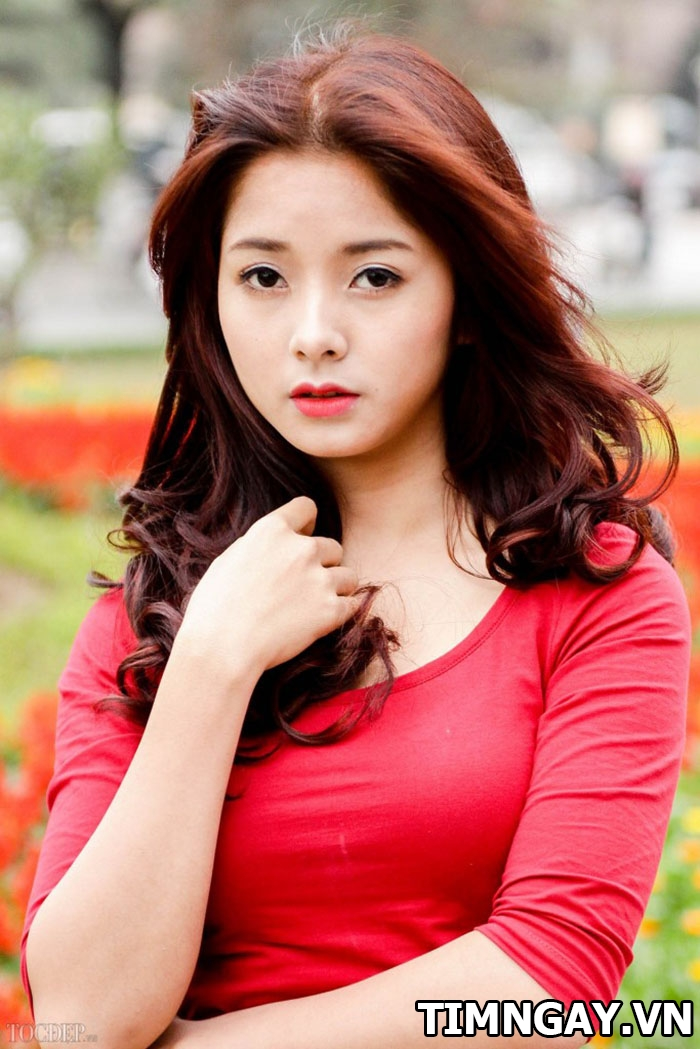 Tóc màu nâu đỏ thời trang của các nàng trong năm 2017 4