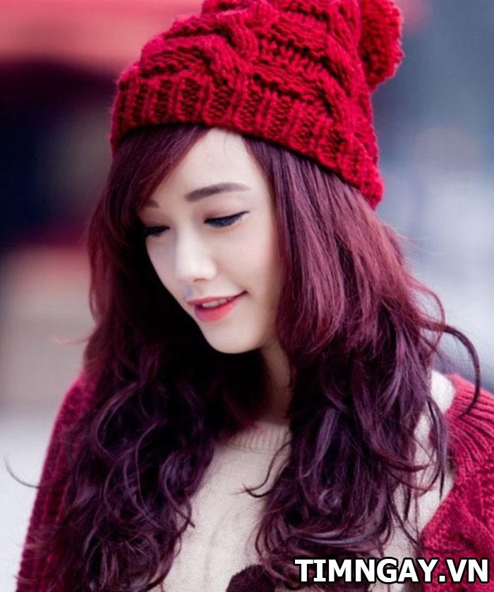 Tóc màu nâu đỏ thời trang của các nàng trong năm 2017 5