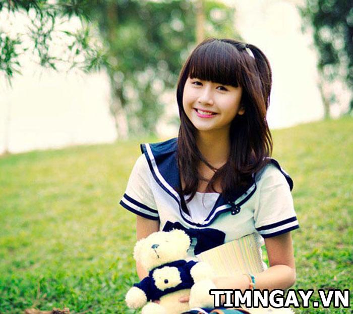 Xinh như gái Hàn Quốc nhờ các kiểu tóc mái dễ thương sinh viên 1
