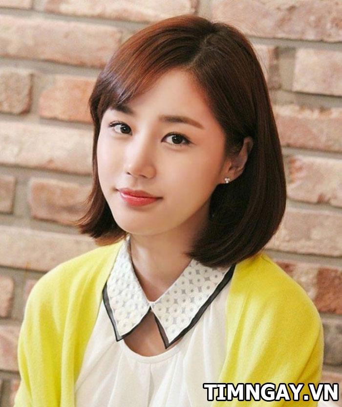 Xinh như gái Hàn Quốc nhờ các kiểu tóc mái dễ thương sinh viên 2