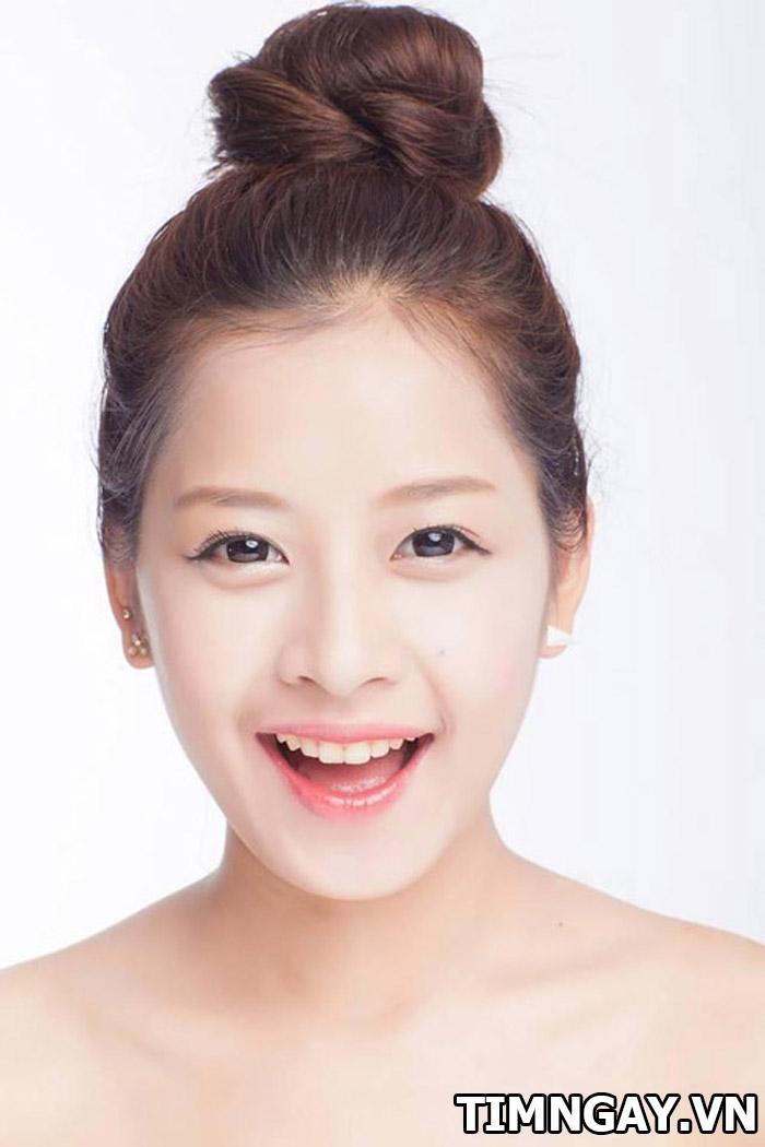 Xinh như gái Hàn Quốc nhờ các kiểu tóc mái dễ thương sinh viên 4