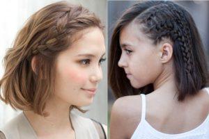 3 cách tết tóc mái lệch khéo léo cho các cô nàng điệu đà
