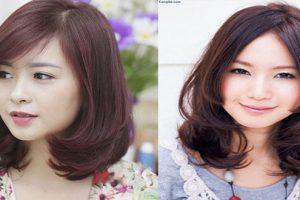 3 kiểu tóc uốn đuôi ngang vai đẹp như sao hàn nàng nào cũng thích