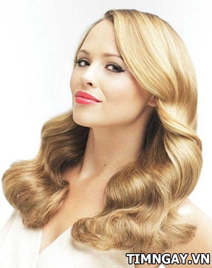 Bí quyết chăm sóc kiểu tóc uốn gợn sóng to sành điệu 1
