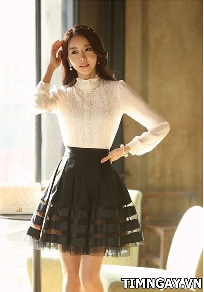 Các kiểu áo sơ mi nữ dễ thương, thời trang cho nàng công sở 6