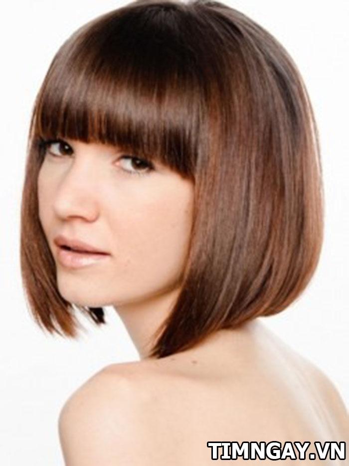 Các kiểu tóc ngang vai duỗi cúp cho cô nàng sành điệu 3