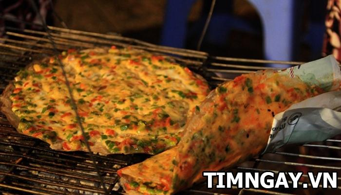 Cách làm bánh tráng nướng mỡ hành thơm ngon tại nhà 7