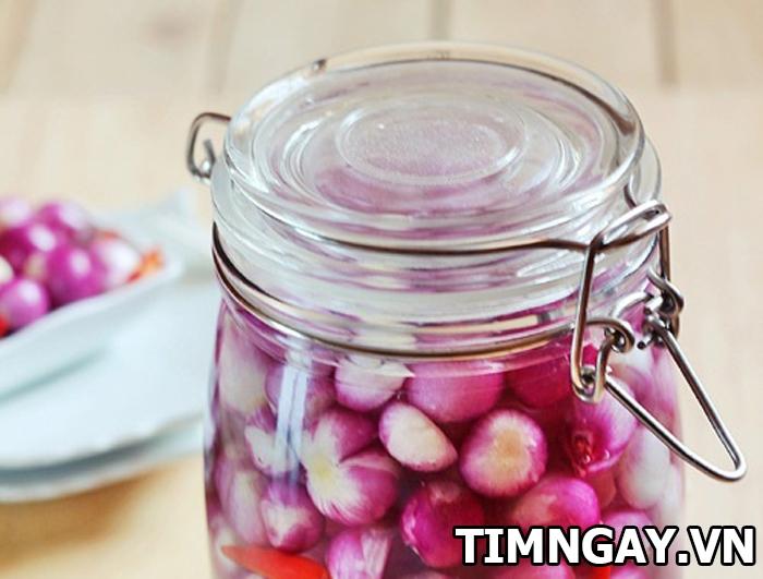 Chinh phục chàng với cách làm hành chua ngon giòn 4