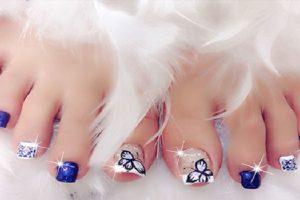 """""""Cơn sốt"""" những mẫu nail chân đẹp được tin đồ làm đẹp săn lùng"""