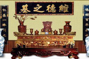 Hướng dẫn cách bày bàn thờ gia tiên chuẩn theo phong thủy