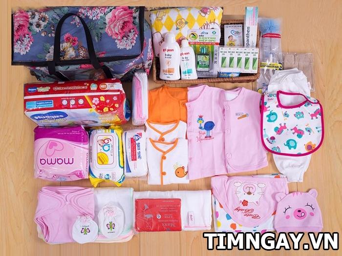 List ghi nhớ giúp mẹ chuẩn bị đồ sơ sinh cho bé gái đầy đủ và tiết kiệm 1