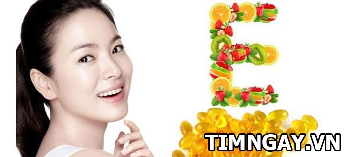 Những điều cần biết về tác dụng của vitamin E đối với da mặt