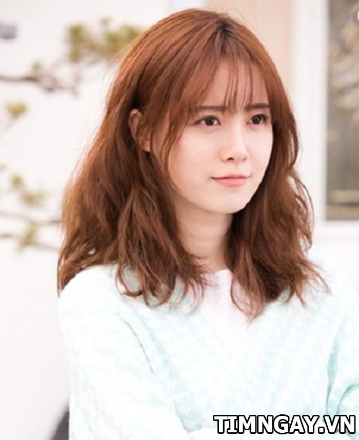 Những kiểu tóc ngắn uốn thời thượng cho các tín đồ mê phim Hàn4