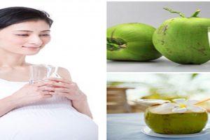 Phụ nữ có thai có nên uống nước dừa không hay không?
