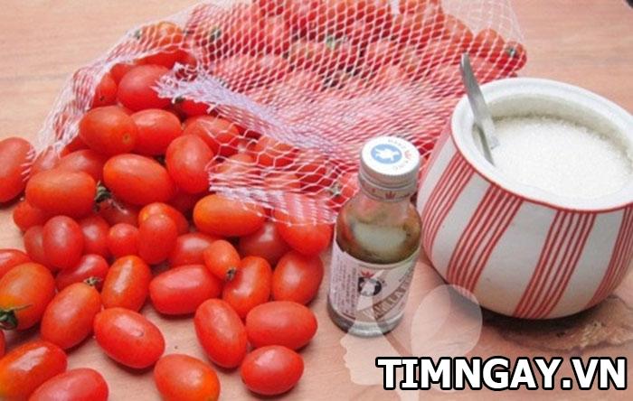 Thành công mỹ mãn với cách làm mứt cà chua không cần vôi 1