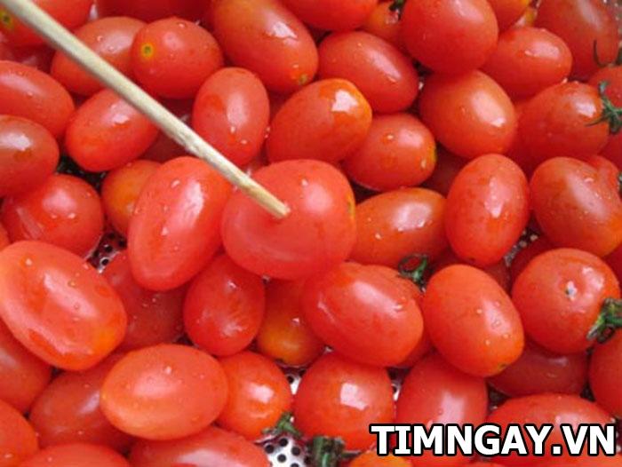 Thành công mỹ mãn với cách làm mứt cà chua không cần vôi 2