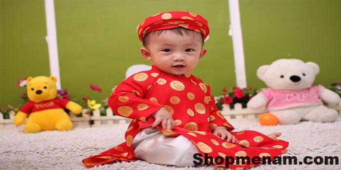 Buôn sỉ số lượng quần áo trẻ em dịp tết nguyên đán đồ tết cho bé 2018